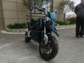 Cool Lead-acid electric motorcycle with hub motor for sale