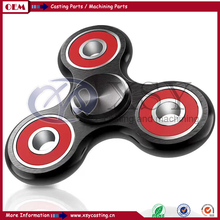 2017 popular aluminum fidget stainless steel bearing spinner toy