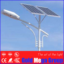 Price of 9 meter pole solar street light with solar charge controller , battery and solar panel