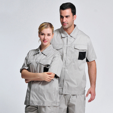 2017 Wholesale Industrial Workers' Smock Maintenance Clothes Uniforms Design