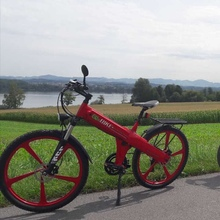 "26"" Flash electric bicycle pedelec with chopper for adults from factory"