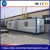 Two-story high quality folding portable prefabricated container houses with roof