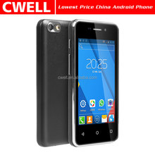 Lowest Price China Android Phone 4 Inch Touch Screen Celulares baratos