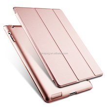 For Joy Series Smart Magnetic Case for Ipad mini4, Factory Selling Price Tablet PC+PU Leather case for iPad mini4