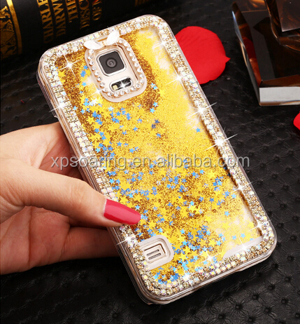 Quicksand Diamond case cover for Samsung Galaxy S5 I9600