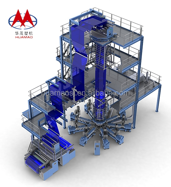 High Speed Multi Layer Co-extrusion Rotational Molding Machine Price