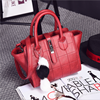 2016 new design PU leather handbag, woman handbag