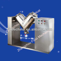 August!! industrial powder mixer v/mixer powder v machine/chemical mixing equipment