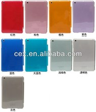 For Apple iPad Mini New Arrival Wholesales Ultra Thin Crystal Hard Shell PC Plastic Case