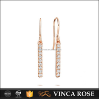 New products Pure and crystal-clear korea earring wholesale
