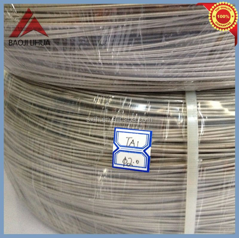 Lihua gr2 titanium wire for fishing