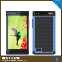 slim combo case silicon back cover yexiang cover case for blackberry 9850/9860