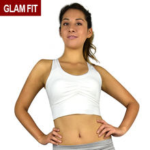 high quality running dri fit racerback ladies sports bra with clasp oem ladies women yoga sport gym fitness top sexy women s