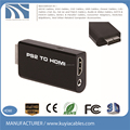 PS2 to HDMI Converter Adapter with 3.5mm Audio Output for HDTV monitor 1080P