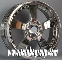 Alloy wheel rims, chrome wheels, 4x4 aluminium wheels for car
