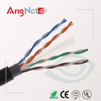 High quality 23awg 550Mh rj45 outdoor aerial cat6 cable