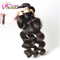 One donor hair cuticle aligned brazilian 100% virgin human hair loose wave