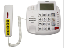 CE/ROHS Lastest Caller ID big button Handsfree SOS Emergency Phone for seniors