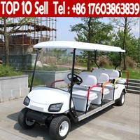 8 seats 4 wheel drive club car electric used golf cart for sale