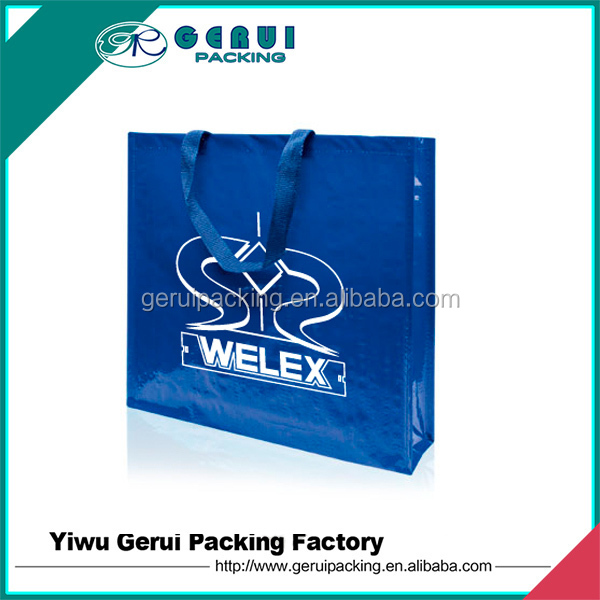 china cheap reusable laminated pp woven shopping bag