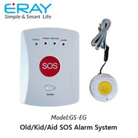 GSM auto dial home security SOS personal medical emergency alarm for elderly