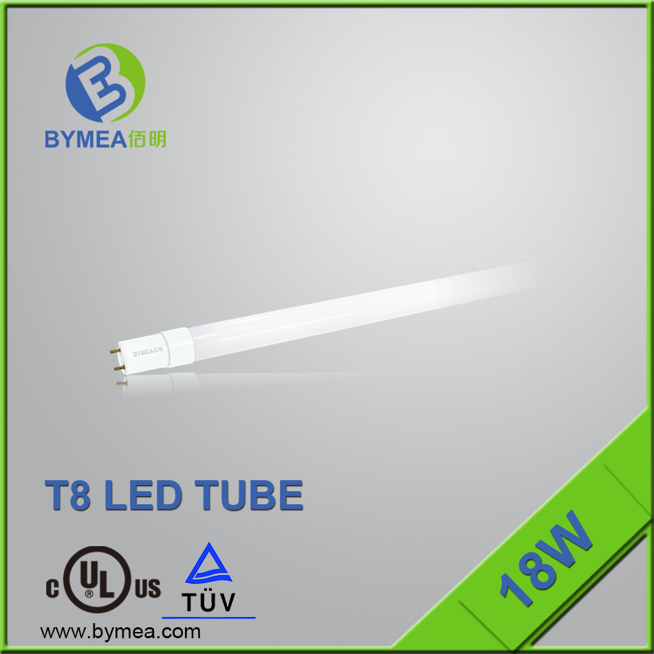 ETL DLC CE ROHS ERP SAA t8 free japanese red tube 6 china 4000K 5000K 1800lm 18w led tube t8 smd