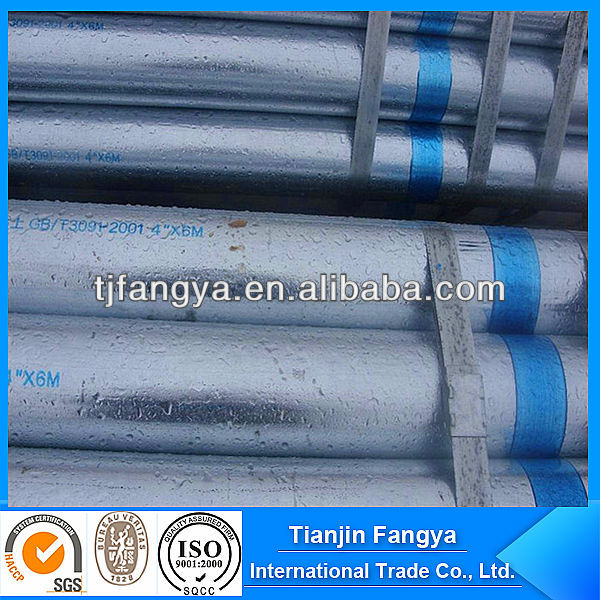 hot dip galvanized steel welded pipe/tube company