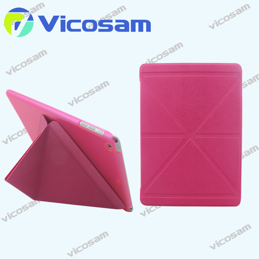 new cover for ipad air PU Material anti-shock tablet case book style case for ipad air 2 for ipad mini 3 case rotary