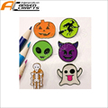 custom metal ghost funny lapel pin halloween