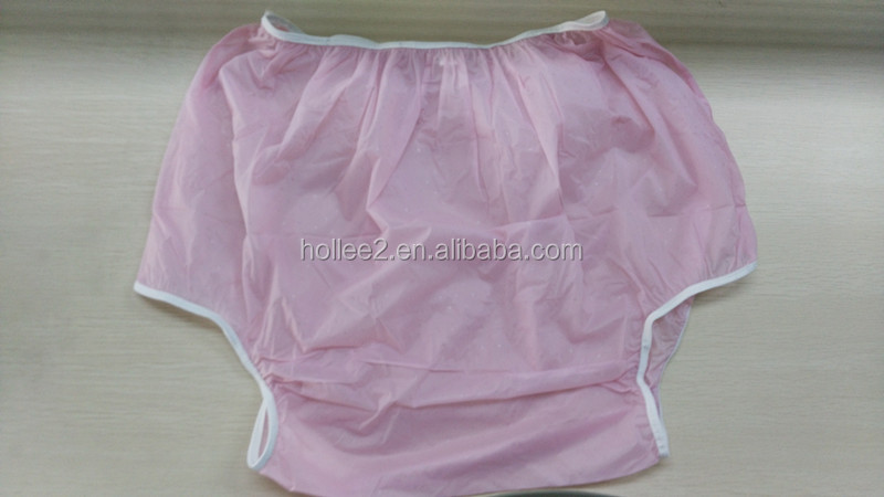 waterproof plastic adult PVC pants