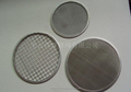 Stainless steel filter wire mesh piece