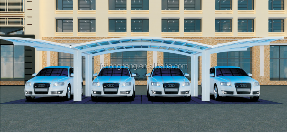 China Supplier Hongneng Portable Decorative Carport For Motorcycle Garage
