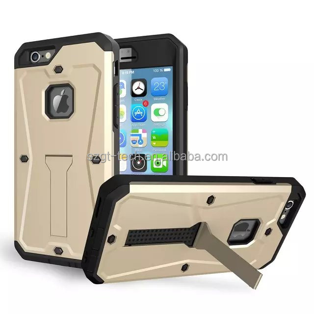Military 3in1 wonderful hard shockproof metal aluminum mobile phone case for iphone 6/6s
