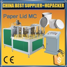 PLM-60 HGPACKER made approved corrugated disposable ice cream cup paper lid machine