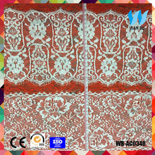 Indian beaded lace fabric for bra