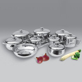 Cookware Set,kitchenware,17pc Stainless Steel Cookware Set