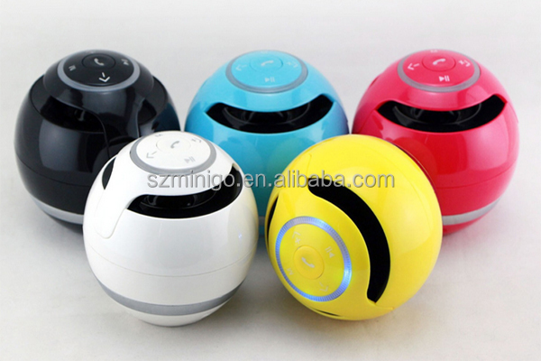 Minigo Wireless Bluetooth Speaker Egg Ball Handfree Call portable mini bluetoth speaker Music Player Smart Speaker Subwoofer