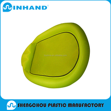 hot sale factory production EN71 pvc inflatable round air mattress/float lounger