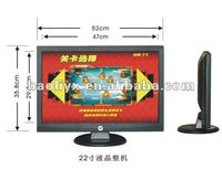22'' open frame LCD screen