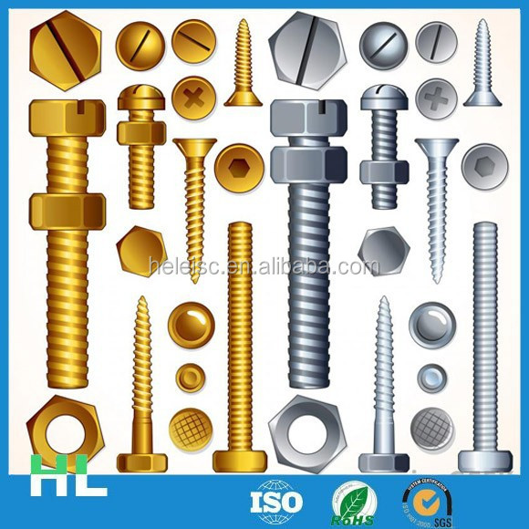 China manufacturer high quality screws with washer attached