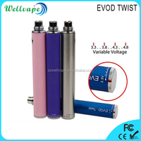 Newest evod twist variable voltage battery imag plus vaporizer