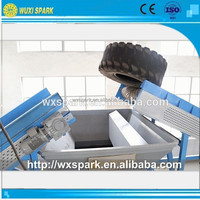 Professional manufacturing Tire/Rubber Crumbing recycling plant for sale