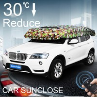 SUNCLOSE Factory funny car sunshade seat cover baby car seat canopy used car dealers philippines automatic umbrella
