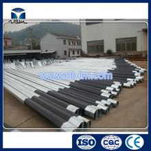 Professional street lighting poles postes de luz outdoor light fixtures street light pole with low price