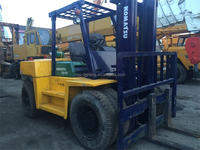 Komastu High Quality FD100 Japan Original 10 Ton Used Forklift Hot Sale!!
