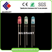 China supplier round\oval\straw hat\flat rgb led diode