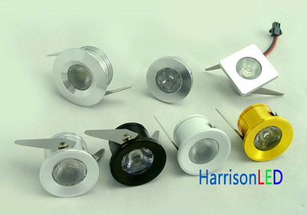 high power 1w 3w under cabinet led puck light