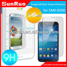 2014 newest 9h tempered glass screen protector galaxy mega