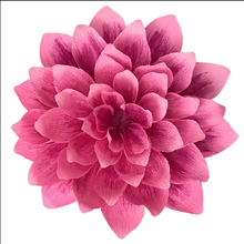 Colorful paper lotus for home decoration