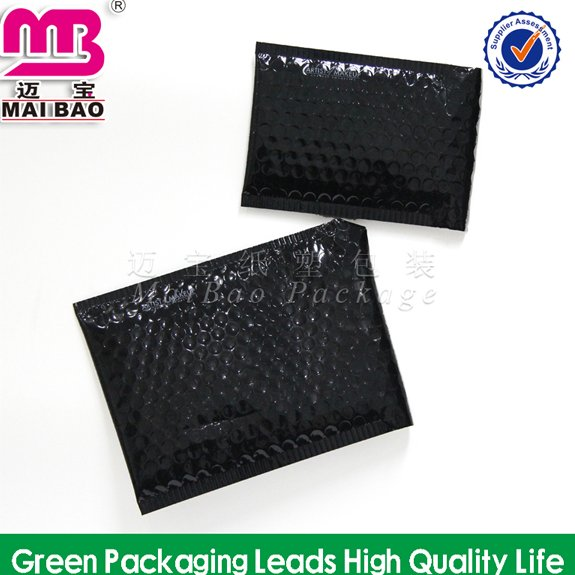 Customer Design or Customized by FREE black wrap air shipping bubble envelopes
